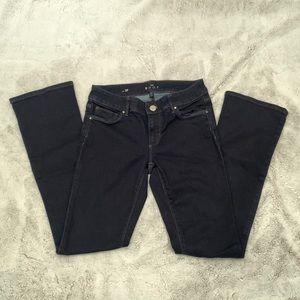 Dark navy White House black market jeans
